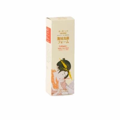 Гель-пенка для умывания с питательными компонентами Aishodo Maiko Face Wash