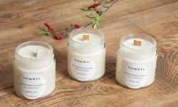 Интерьерные ароматические свечи из соевого воска