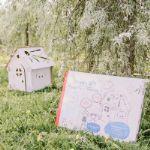 детские картоные домики