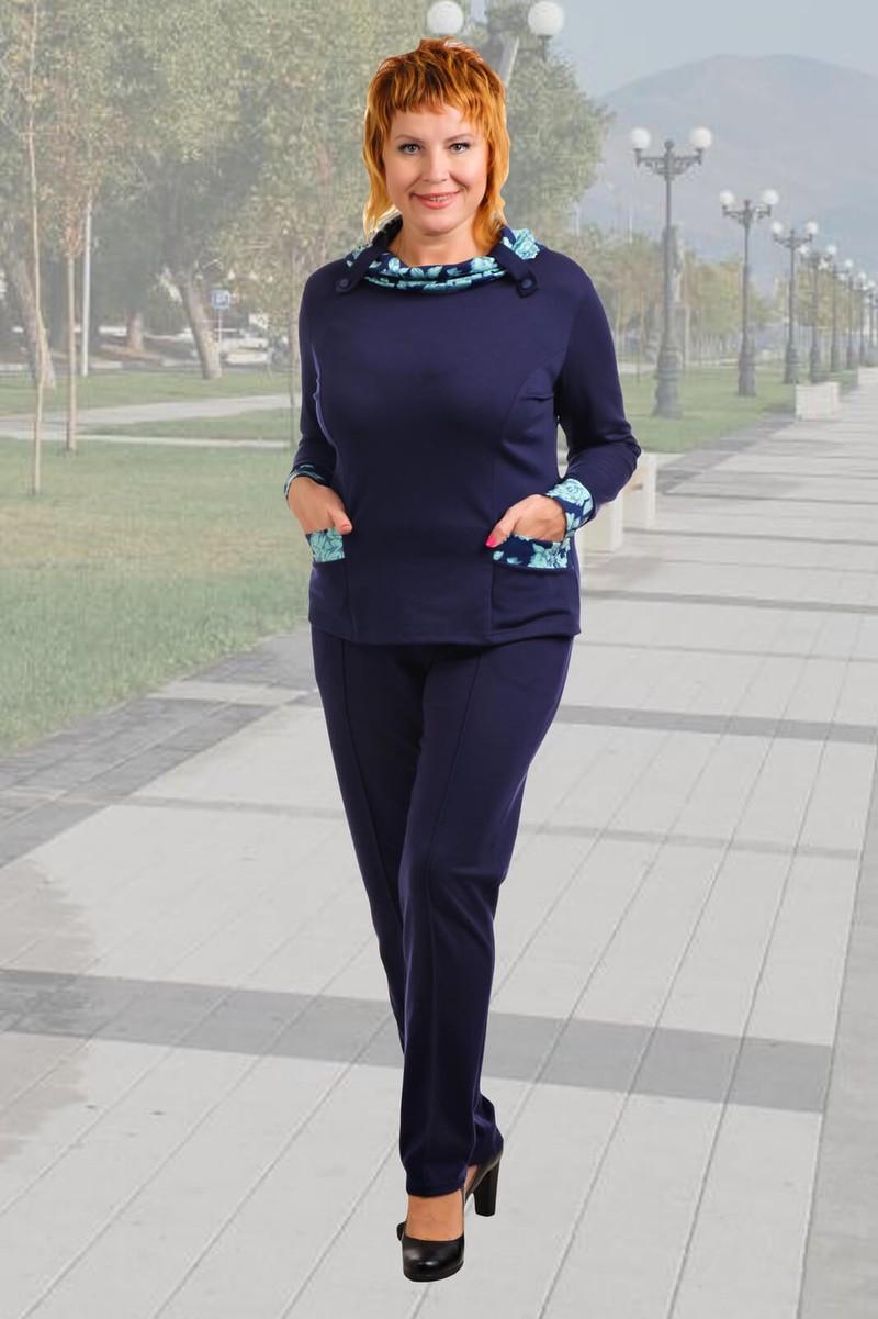 "Блуза ""Биатрис"". Трикотаж - Милано. Размеры 48 - 58 - 400 руб."