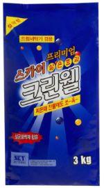 Безфосфатный концентрированный стиральный порошок Clean Well 3кг
