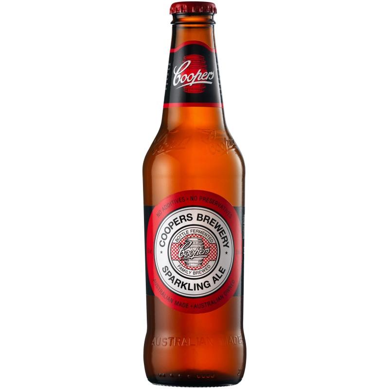 ПивосветлоенефильтрованноенепастеризованноеCoopers Sparkling Ale КуперсИскрящийсяЭль375мл