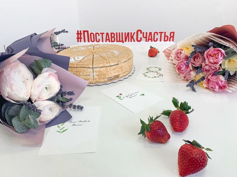 """8 марта в компании """"Поставщик счастья"""""""
