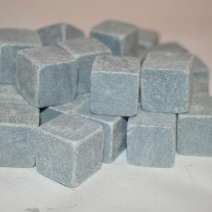 Кубик обвалованный (стеатит)