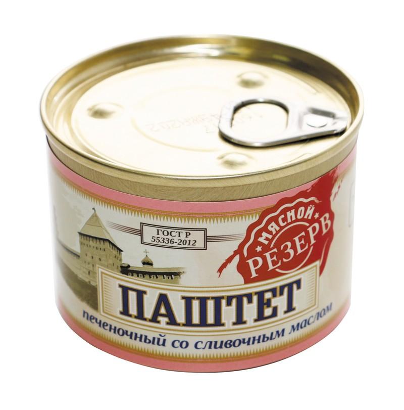 Паштет печеночный со сливочным маслом ГОСТ
