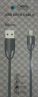 Кабель micro USB Cabal CB-DCB-2221