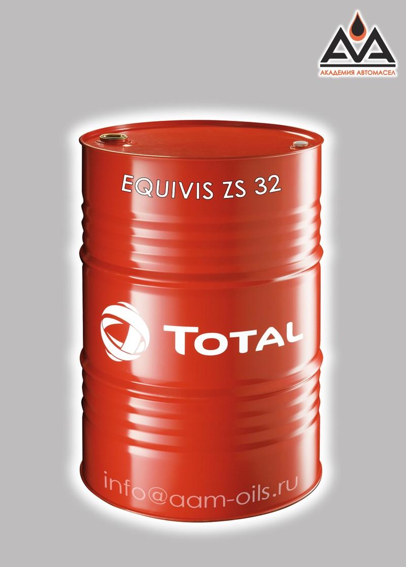 Гидравлическое масло Total EQUIVISZS 32 208 л