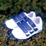 Профилактические кроссовки. Натуральная кожа внутри и снаружи, стелька с супинатором, жесткий задник