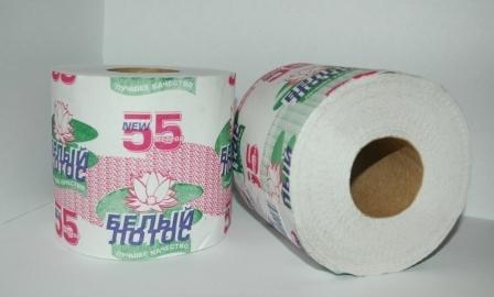 """Туалетная бумага """"Белый Лотос"""""""