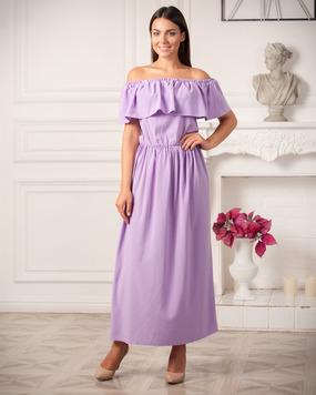 Платье Платье Melony Арт ( R34-01)  Размеры: S (40-44), M (44-48), L (48-52) Ткань: летняя костюмка! Цена :  Цвет : лиловый