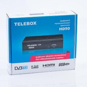 Цифровой приемник Telebox HD 50. Цифровой приемник Telebox HD 50