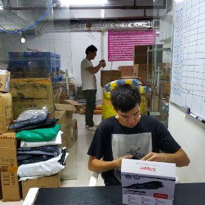 Рабочие будни на складе
