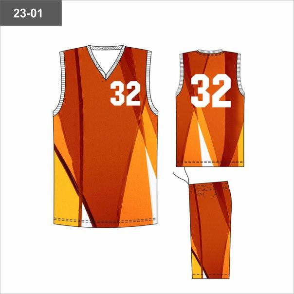Баскетбольная сублимационная форма 1 730 руб.