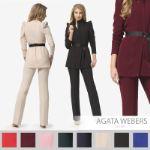 Костюм: жакет + брюки Agata Webers D-149