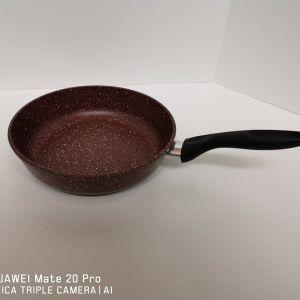 Сковорода 26см, коричневый гранит.