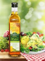 масло подсолнечное салатное (холодного отжима)