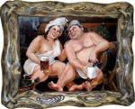 изготавливаем веселые картины для бани