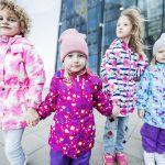 Детская верхняя мембранная одежда, а также одежда Софтшелл