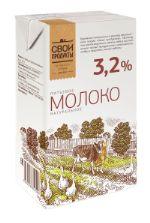 Молоко 3,2% 1л. TBA