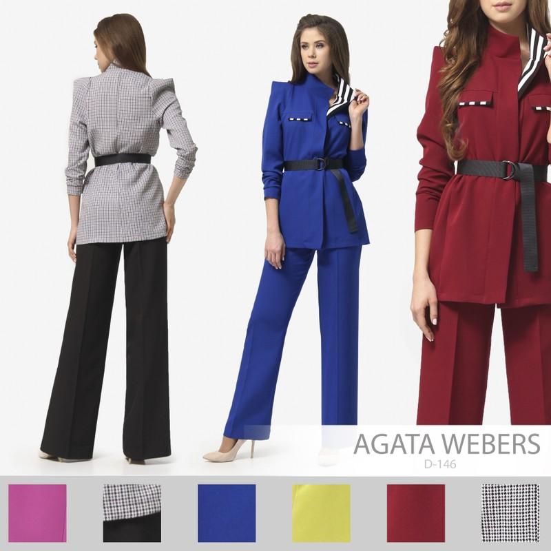 Костюм: жакет + брюки Agata Webers