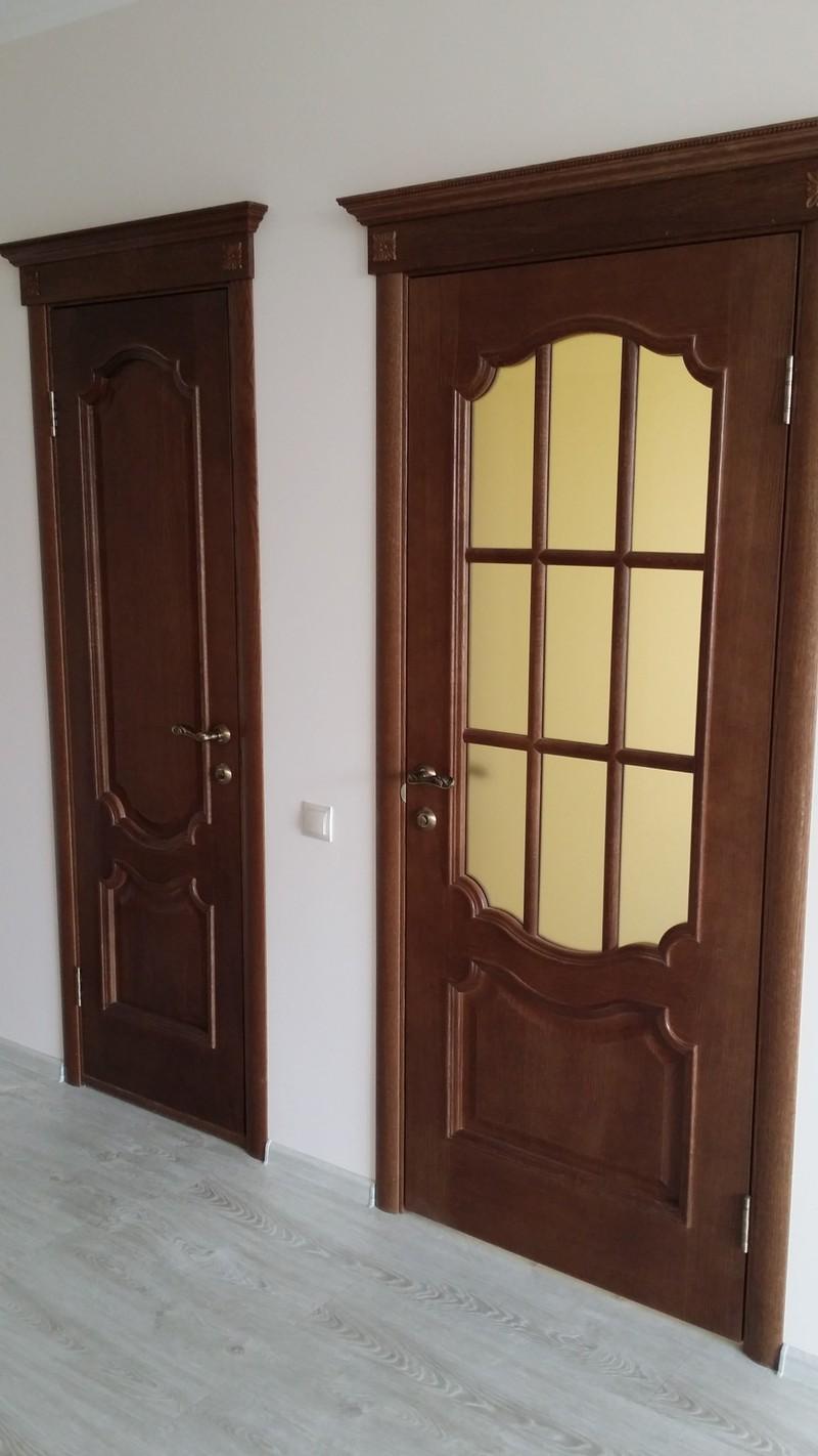 Продажа и монтаж межкомнатных дверей в классическом стиле (шпон дуба. Цвет ольха).    Мельникайте 116 61-23-90. 68-00-85 Ждем в гости :)  #Бион #двери_межкомнатные  #двери_металлические #окна_пластиковые