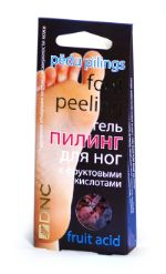 Гель для ног с фруктовыми кислотами (пилинг), 40мл DNC 4751006750838