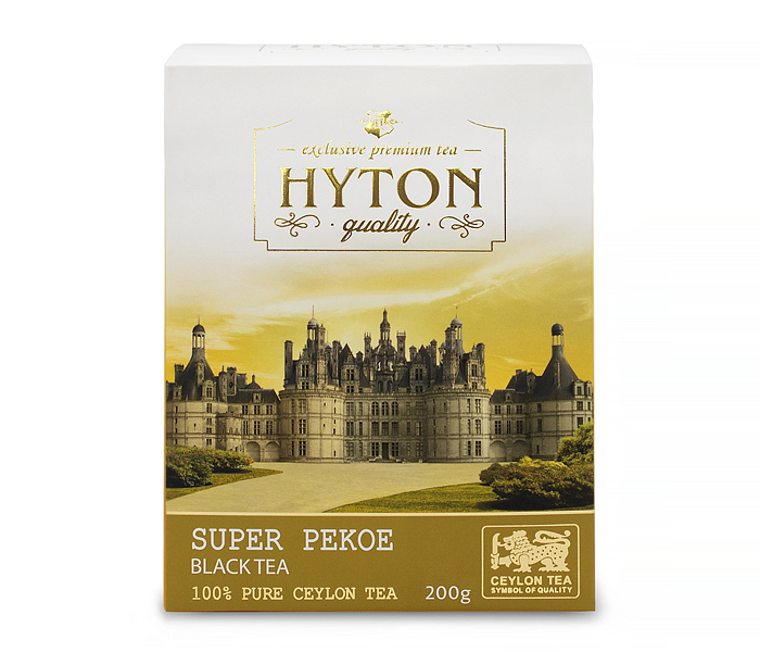 Чай Hyton черный Супер Пеко PEKOE 200г RUHUNA