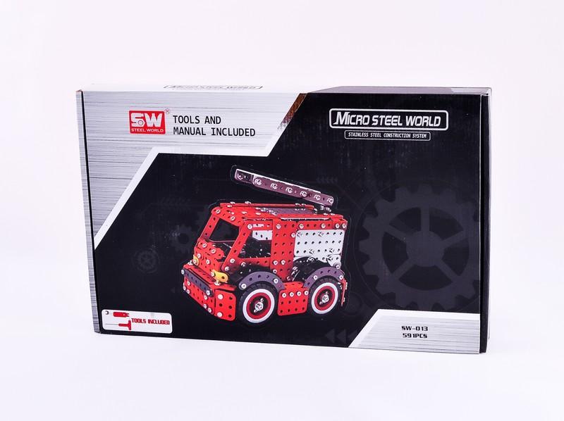 КонструкторSW Пожарная машина, 591 шт.