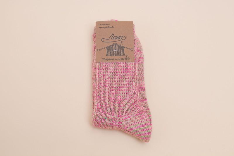 Вяжем хлопковые и шерстяные носки