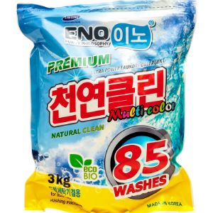 Высокоэффективный стиральный порошок для цветных вещей. Не оставляет следов пятен даже при стирке в холодной воде. Энзимы, содержащиеся в порошке, растворяют протеины и жир, вместе работают над эффективным удалением стойкого загрязнения. Эффективно отстирывает стойкие загрязнения и пятна, благодаря ферментам, проникающим глубоко в ткань и удаляющим застарелую грязь, жирные пятна, а так же пятна растительного происхождения. Благодаря гранулам, содержащих кислород, средство быстро растворяется в холодной воде и хорошо вымывается, не оставляя следов моющего средства на ткани. Подходит для всех типов стиральных машин и ручной стирки. Сертифицирован как безопасный продукт, прошёл аккредитацию по 26 категориям на отсутствие вредных веществ. Протестирован и застрахован компанией Samsung.