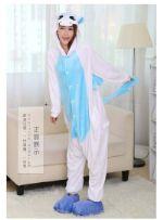 Пижамы Кигуруми для взрослых Единорог--синий Y0058
