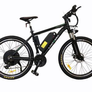 Современные велосипеды марки Lantegra оснащены емкими (13Ah) аккумуляторами, позволяющие проехать на одной зарядке до 80 км