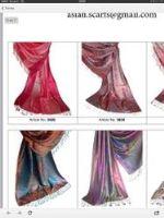 шарфы, платки, палантины из натуральных тканей высокого качества