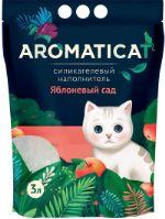 """Наполнитель для кошачьего туалета """"AromatiCat"""" Силикагелевый Яблоневый сад 3л. АС23"""