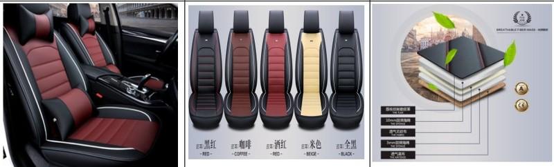 Четыре сезона универсальные автомобильные чехлы для сидений полностью окружены