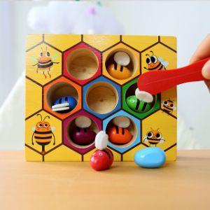 Сортер деревянный пчелки, Развивает логику, восприятие цвета формы, устный счет, логику и моторику. Больше ассортимента в нашем прайс листе.