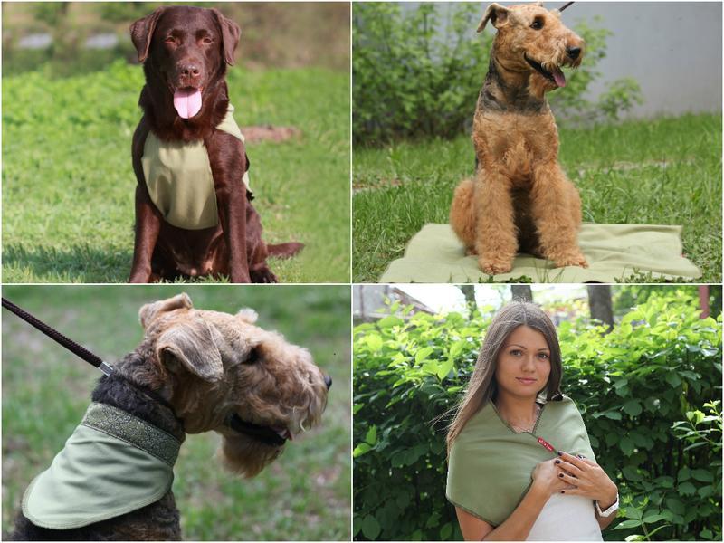 Охлаждающие изделия для собак. Охлаждающие изделия OSSO Fashion сшиты из инновационной ткани ССТ (COOL COMFORT TECHNOLOGY, США), которая создает персональную зону охлаждения и обеспечивает комфортную терморегуляцию на длительное время