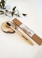 Зубная бамбуковая щётка с угольным напылением, для взрослых Organic_brush