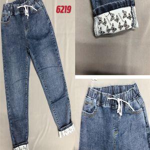 артикул 6219  размер 32-42 (русский 56-66)  цена 780 р джинсы женские зима на флисе