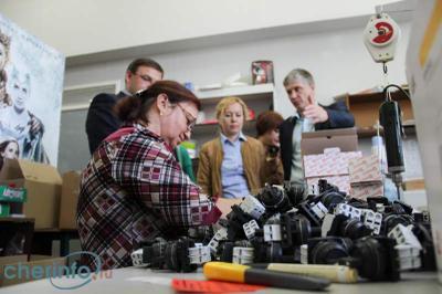 Завод Эльком посетил заместитель мэра г. Череповца