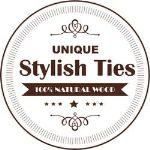 галстуки-бабочки из дерева ручной работы