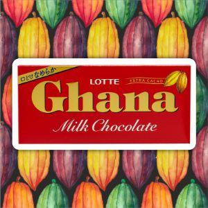 Шоколад Гана молочный, Lotte, 50 г.