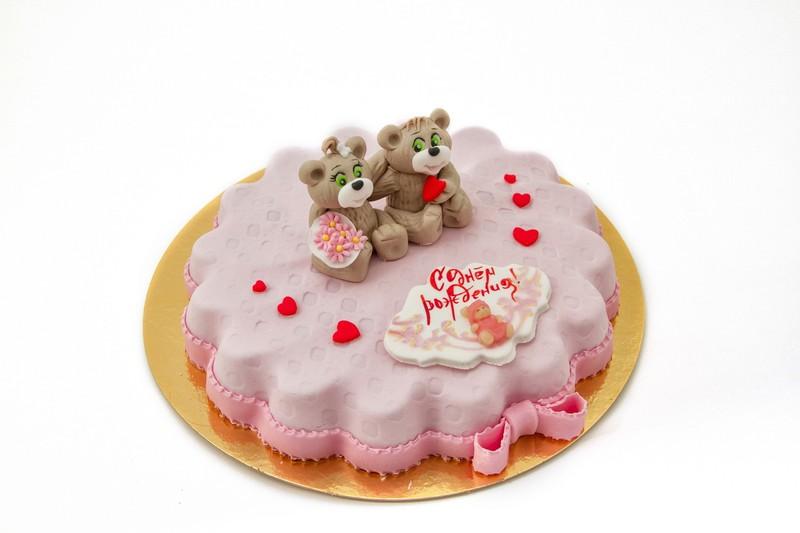 Мармеладные торты и кексы