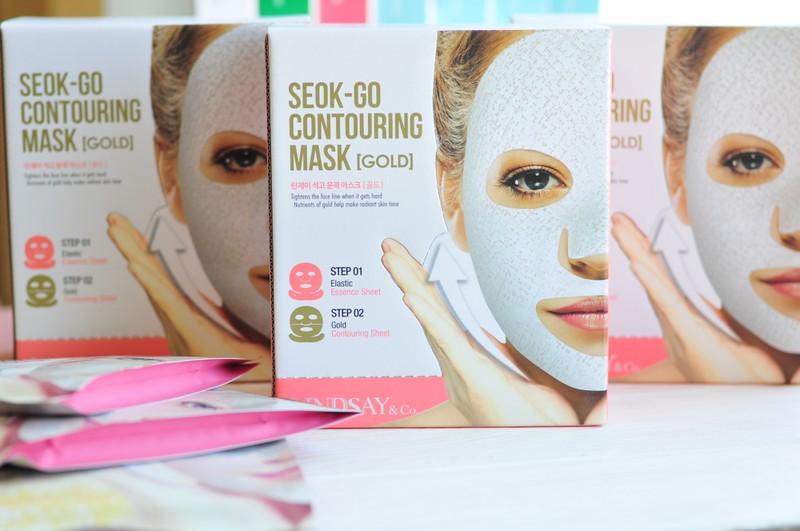 Lindsay Seok-Go Contouring Mask - гипсовая маска для коррекции контуров лица 85g