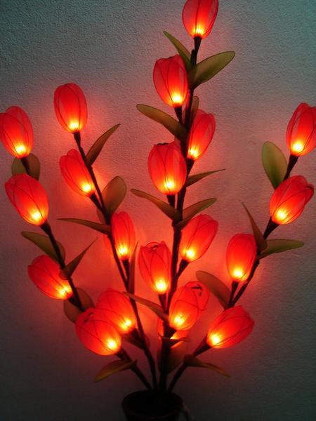 Цветы светильники из тайланда