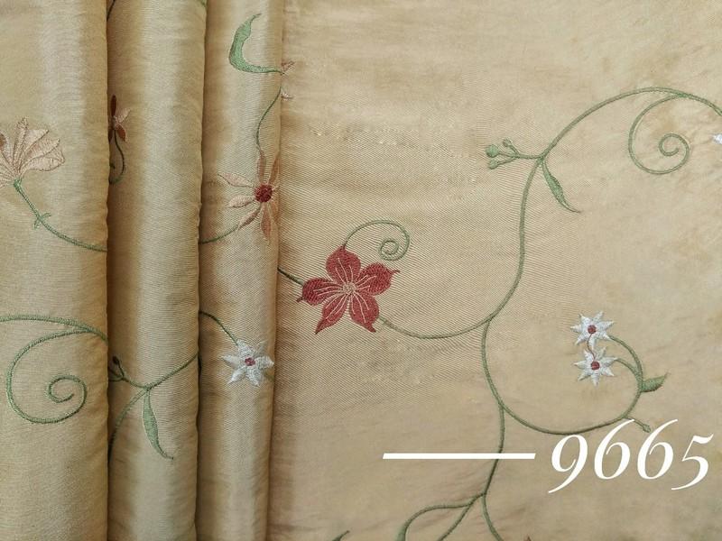 Портьерная ткань с рисунком жаккард/тафта