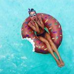 Надувные круги пончики