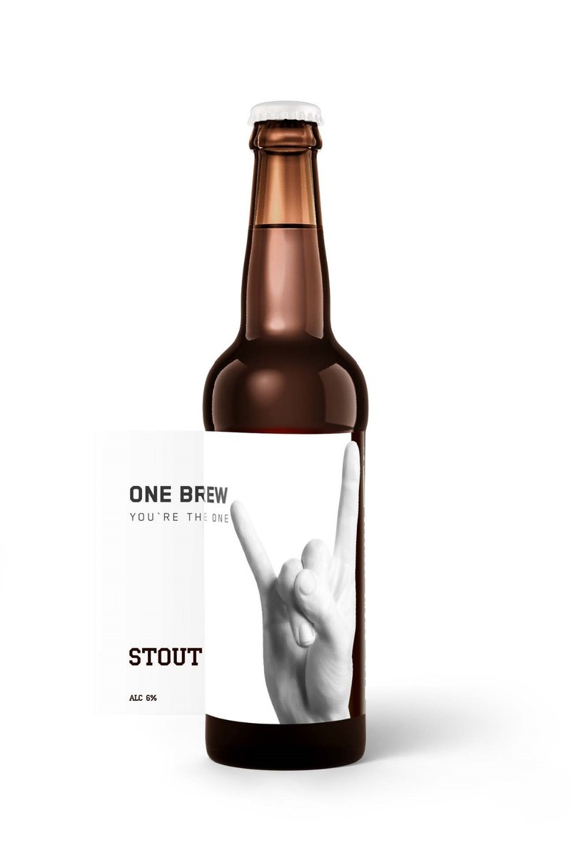 STOUT ONE BREW