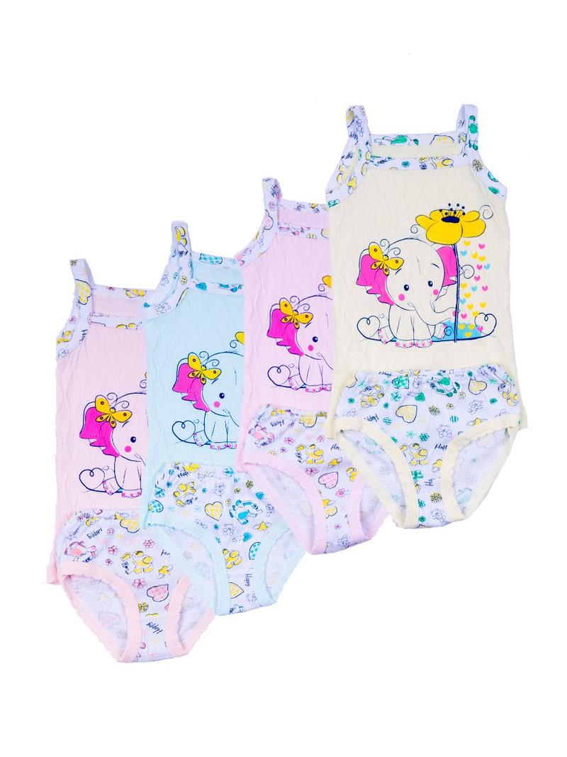 Комплекты белья для девочек, жатка Размеры:  100% хлопок Цена 115 рублей Возраст от 4 до 8 лет