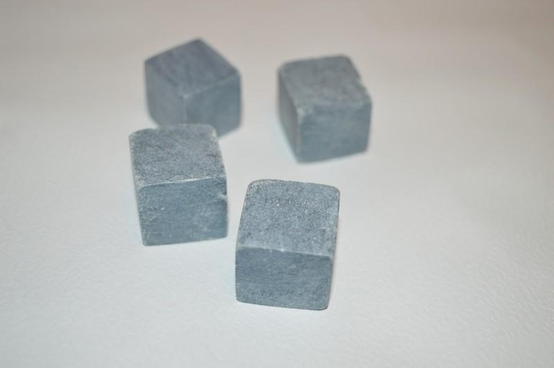 Кубик неполированный без фасок (стеатит)